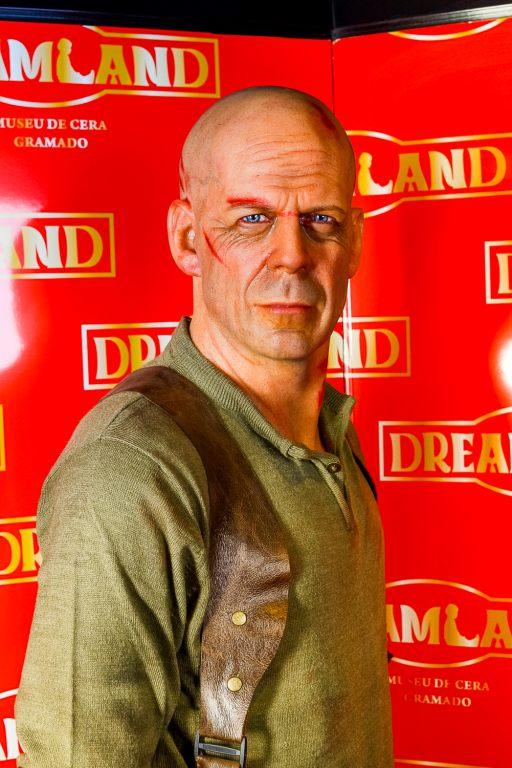 Dreamland Museu de Cera: Bruce Willis