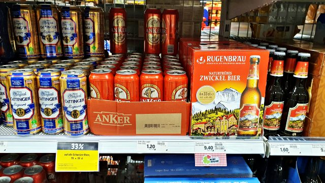 Cervejas suíças | O que comprar nos supermercados na Suíça