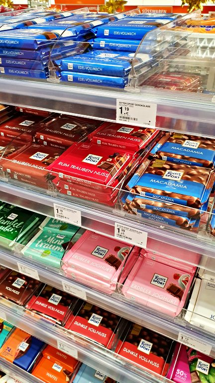 Ritter Sport | Chocolates na Alemanha