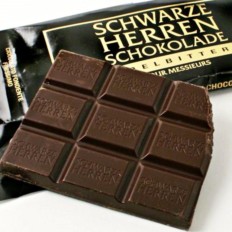 Schwarze Herren Schokolade | Chocolates na Alemanha