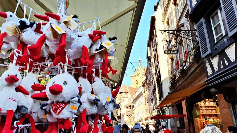 Enfeites e itens de decoração natalinos dos Mercados de Natal de Colmar