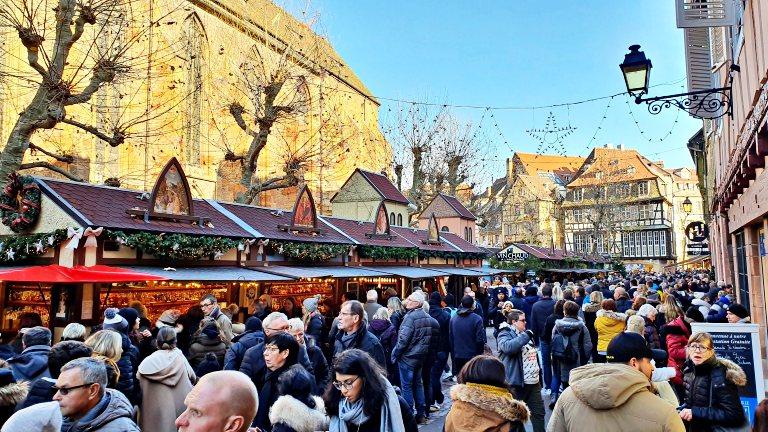 Marché de Noël Place des Dominicains (Mercado de Natal da Praça da Igreja Dominicana) | Mercados de Natal em Colmar