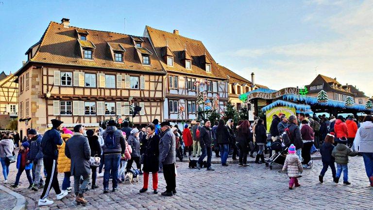 Le Marché de Noël des enfants (Mercado de Natal das crianças)