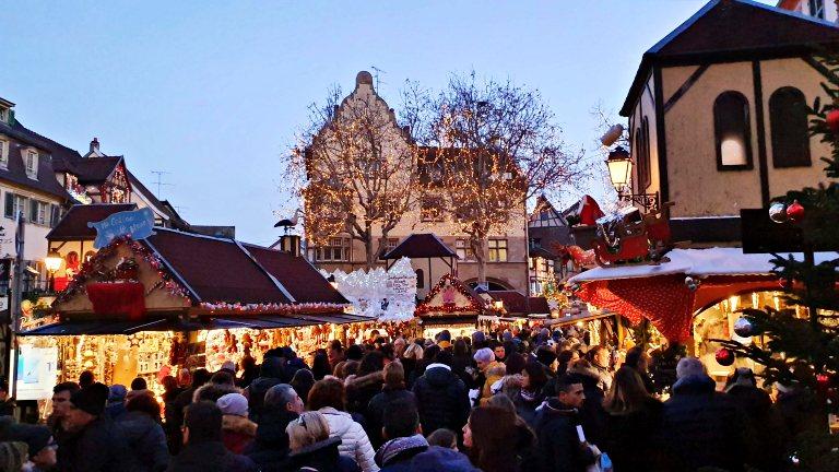 Place Jeanne d'Arc (Mercado de Natal da Praça Joana D'Arc) | Mercados de Natal de Colmar