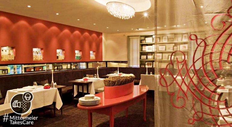 Ambiente interno do restaurante (foto: site oficial do Mittermeier: Hotel & Restaurant)
