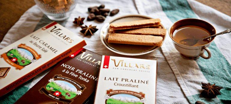Chocolates Villars | Chocolates na Suíça (créditos: villars.com)