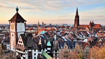 Vista da Schlossberg | O que fazer em Freiburg