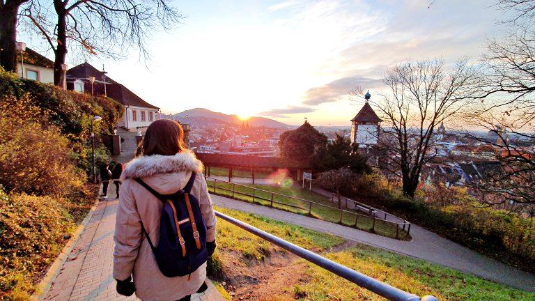 Caminhada de subida no Schlossberg | O que fazer em Freiburg