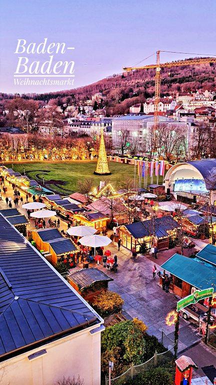 Mercado de Natal de Baden-Baden Christkindelsmarkt