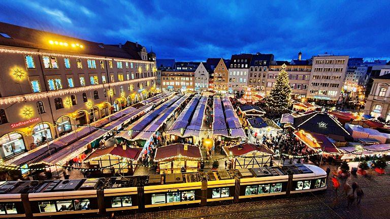 Mercado de Natal de Augsburg (Augsburg Christkindlesmarkt)