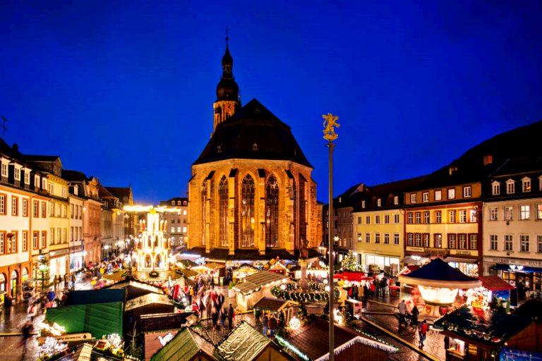 Heidelberg | Mercados de Natal da Alemanha (Foto: Tobias Schwerdt ©Heidelberg Marketing GmbH)