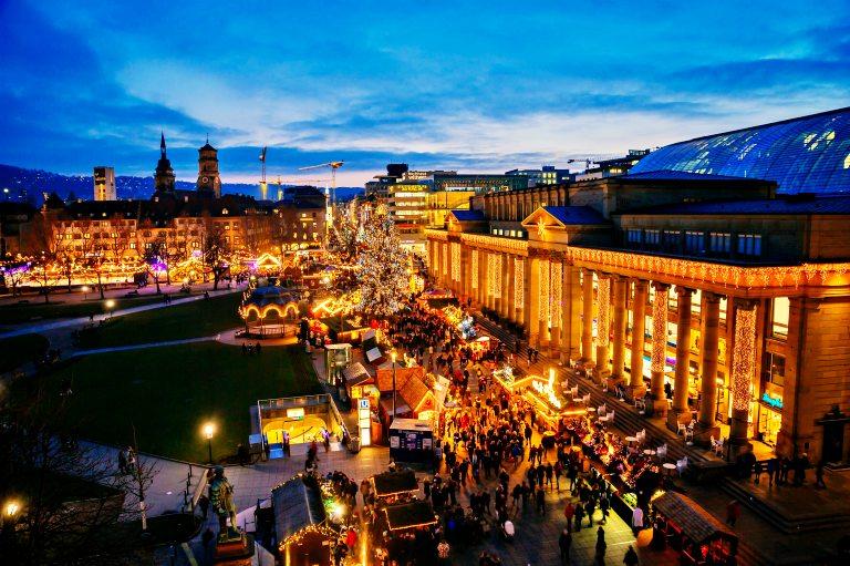 Stuttgart | Mercados de Natal da Alemanha (Foto: Thomas Niedermueller)
