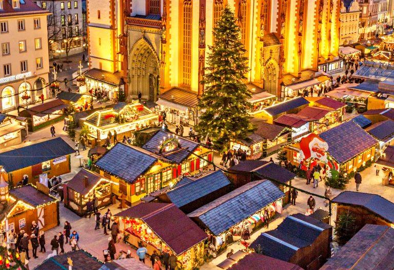 Weihnachtsmarkt Würzburg | Mercado de Natal de Würzburg (créditos: wuerzburg.de)