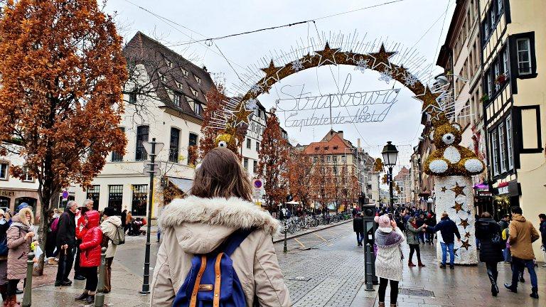 Mercado de Natal de Estrasburgo, a 'Capitale de Noël' da Alsácia