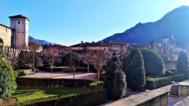 Jardins do Castello di Buonconsiglio | O que fazer em Trento