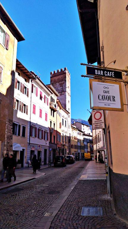 Via Cavour e Torre delle Tromba | o que fazer em Trento