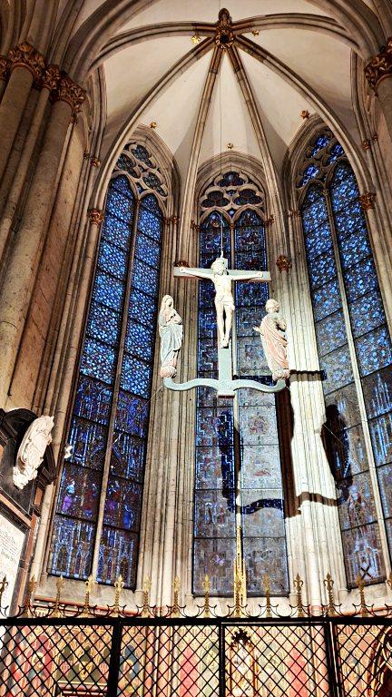 Detalhes do interior da Kölner Dom: a Catedral de Colônia   O que fazer em Colônia (Köln)