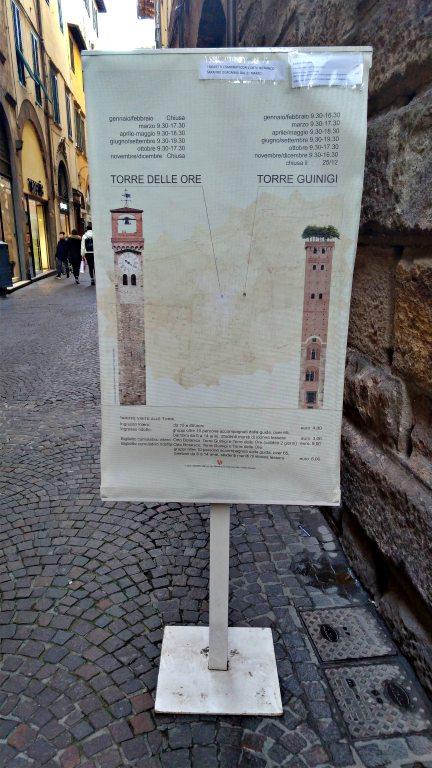 Subida a Torre delle Ore | O que fazer em Lucca
