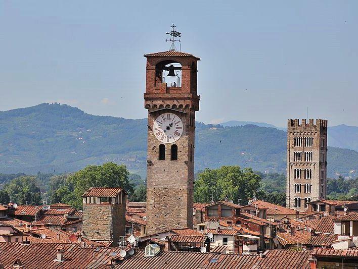 Torre delle Ore | O que fazer em Lucca