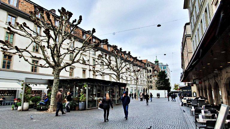 Place du Molard | O que fazer em Genebra