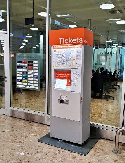 De trem do aeroporto de Genebra até o centro da cidade | O que fazer em Genebra