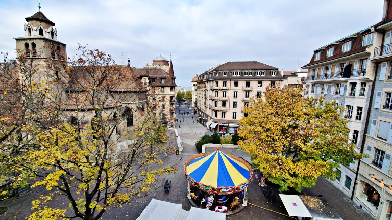 Vista do Terrasse Agrippa D'Aubigne | O que fazer em Genebra