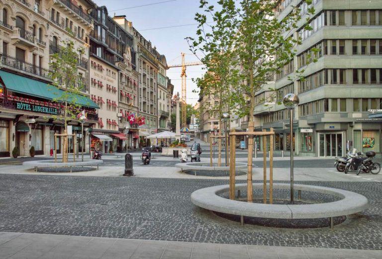 Place de Longemalle | O que fazer em Genebra