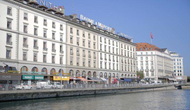 Quai des Bergues | O que fazer em Genebra