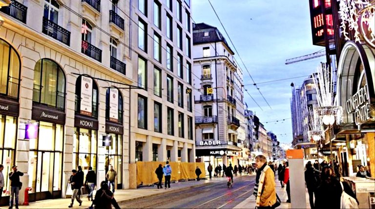 Rue du Rhône: o paraíso das compras de luxo