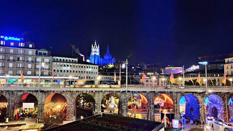 Lausanne à noite | O que fazer em Lausanne