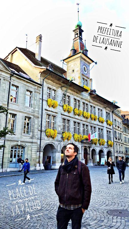 Prefeitura de Lausanne (Hôtel de Ville de Lausanne) na Place de la Palud | O que fazer em Lausanne