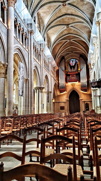 Interior da Catedral de Lausanne | O que fazer em Lausanne