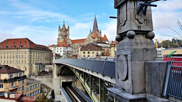 Pont Charles Bessières | O que fazer em Lausanne