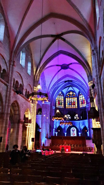 Interior da Basler Munster, a Catedral de Basel | O que fazer em Basel