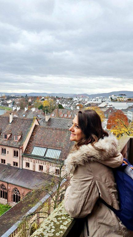 Vista da torre da Catedral de Basel | O que fazer em Basel
