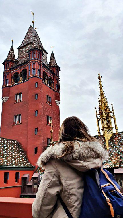 Vista do andar superior da Rathaus de Basel | O que fazer em Basel