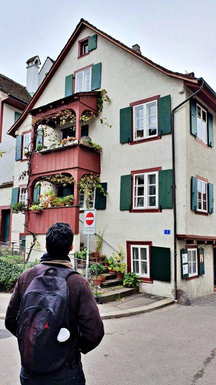 Ruas Heuberg, Unterer Heuberg e Nadelberg no centro histórico de Basel | O que fazer em Basel