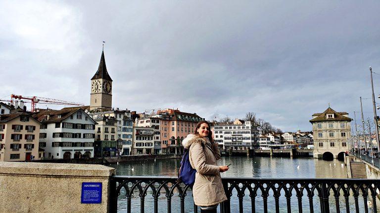 Münsterbrücke: ponte sobre o rio Limmat | O que fazer em Zurique