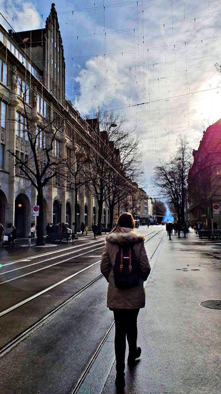 Bahnhofstrasse: principal avenida de Zurique