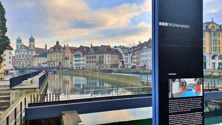 Mühlenplatz e Spreuerbrücke