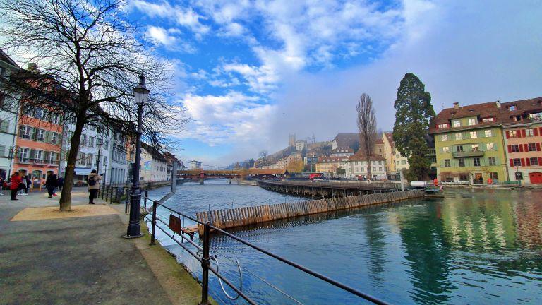 Nadelwehr Luzern - Barragem de agulha de Lucerna